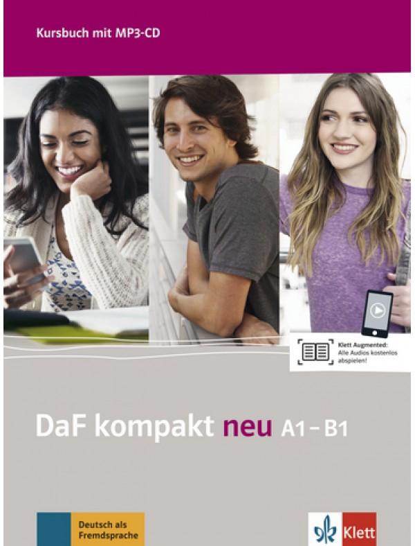DaF kompakt neu A1-B1 Kursbuch mit MP3-CD