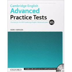 Oxford Advanced: Cambridge English Practice Tests With Key & Audio CD Pack