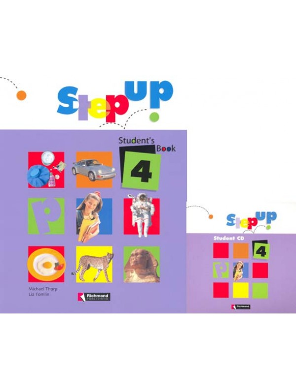 STEP UP Level 4 CLASS CD (2 CD'S)