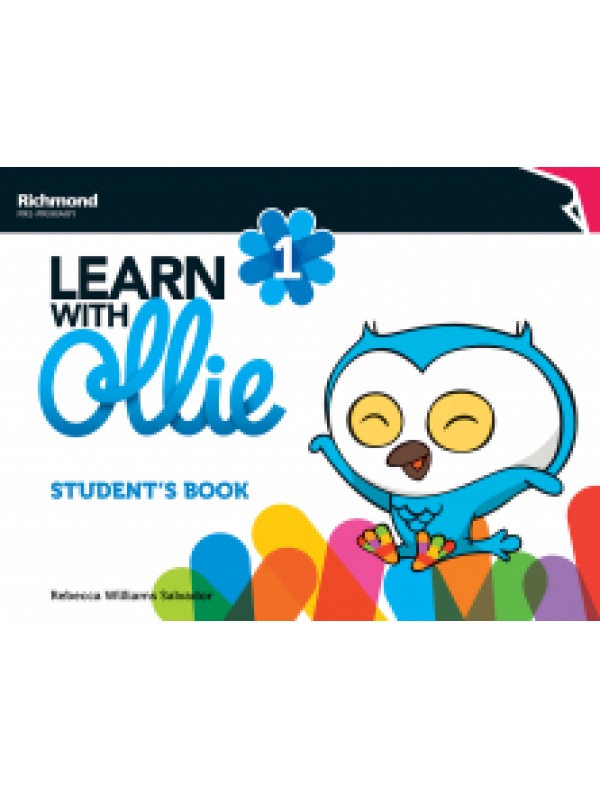 LEARN WITH OLLIE 1 FLASHCARDS+DADO