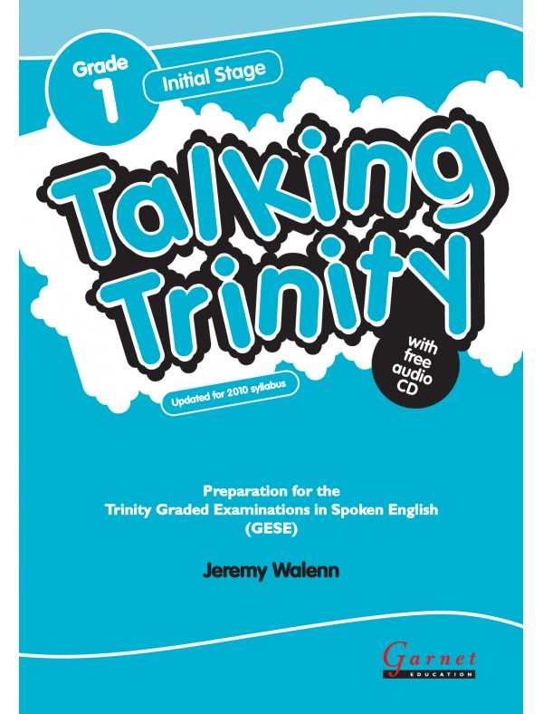 Talking Trinity Initial Stage Grade 1 Student's Book with audio CD REVISED EDITION