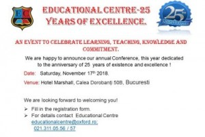 EDUCATIONAL CENTRE-25 YEARS OF EXCELLENCE - programme